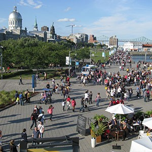 Montreal's old port