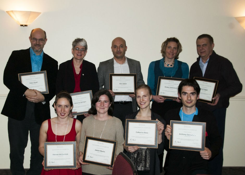 2013 Sustainability Champions