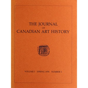 Journal of Canadian Art History