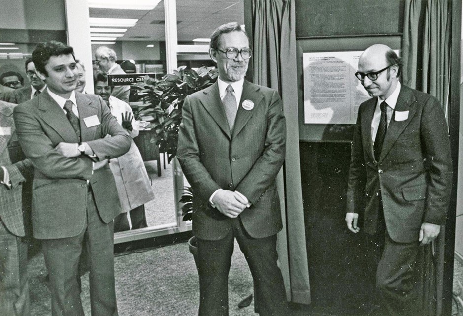 Inauguration of Centre for Building Studies, February 1978.