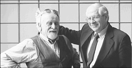 Kurt Jonassohn and Frank Chalk, originators of Concordia's innovative genocide studies program