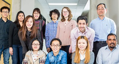 The OH Research group (January 2015)