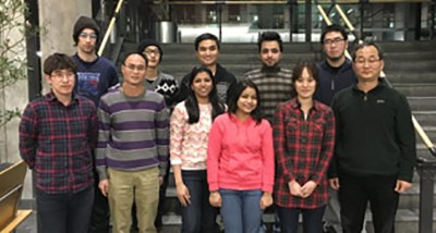The OH Research group (January 2016)