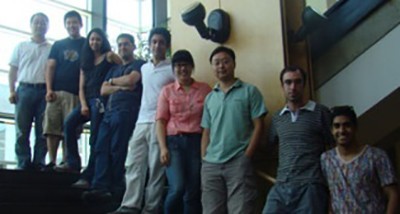 The OH Research group (August 2012)