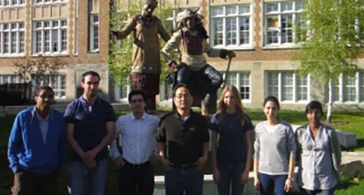 The OH Research group (August 2011)