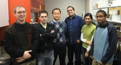 The OH Research group (January 2011)
