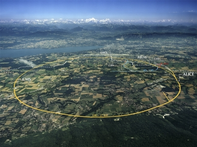 Aerial View of the CERN taken in 2008. Credit: CERN. Photograph by Maximilien Brice.