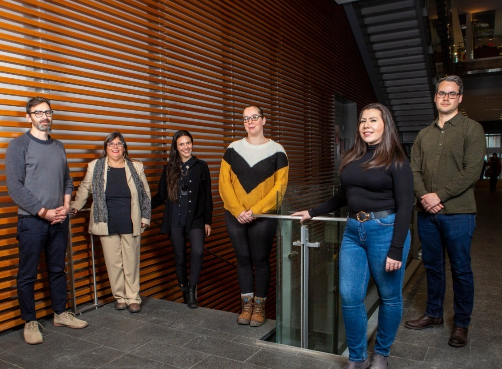 Professors in the First Peoples Studies program