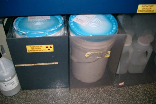Radioactive waste disposal procedures