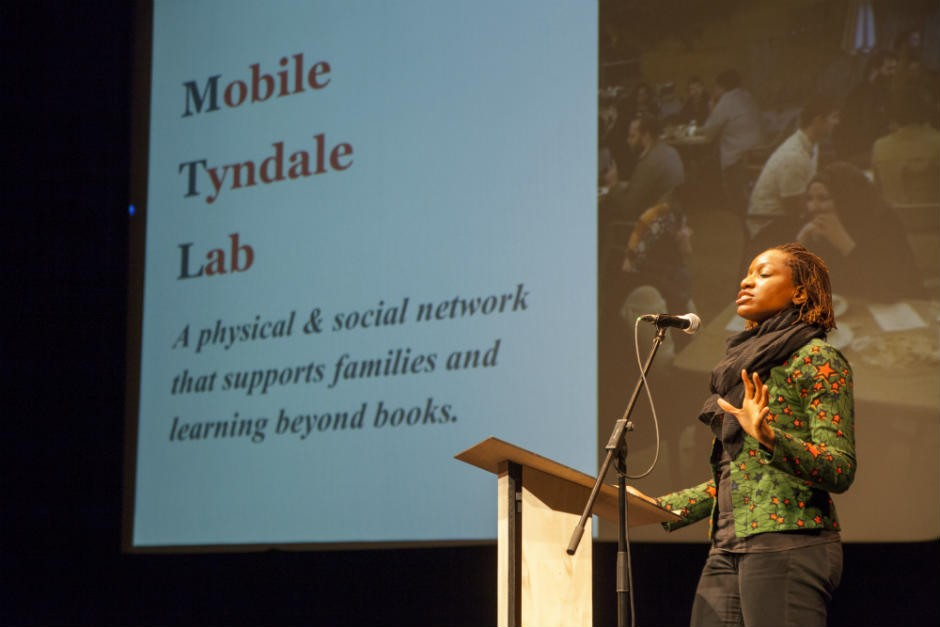 Team members from the Tyndale-St-George (Mobile Tyndale Lab)