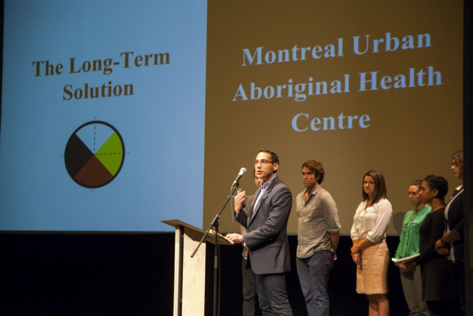 Team members from the Montreal Urban Aboriginal Health Centre