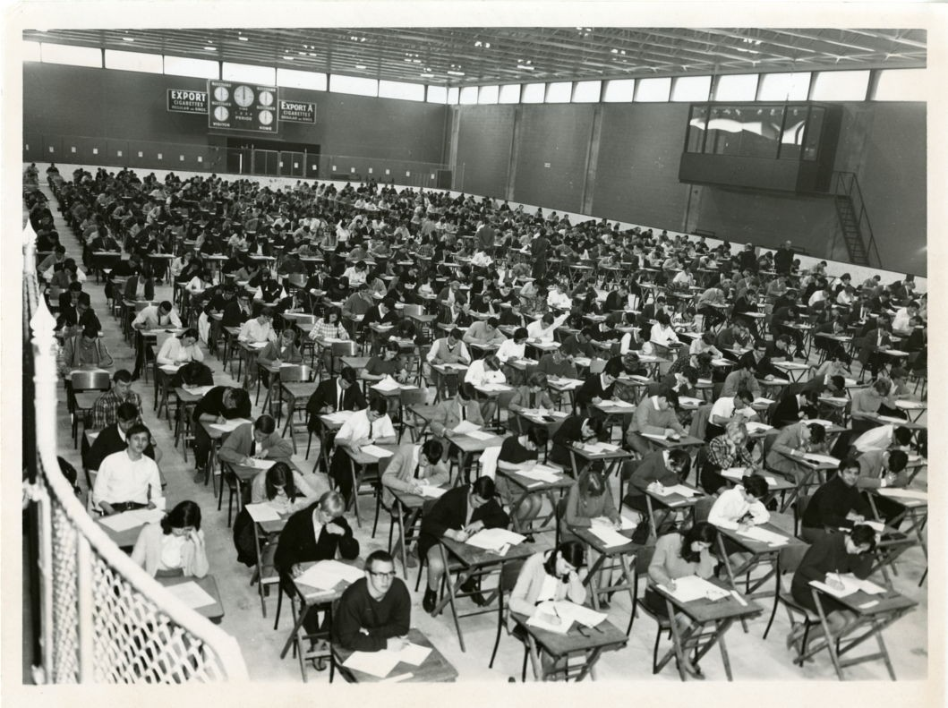 exams-at-athletics-complex-late-60s