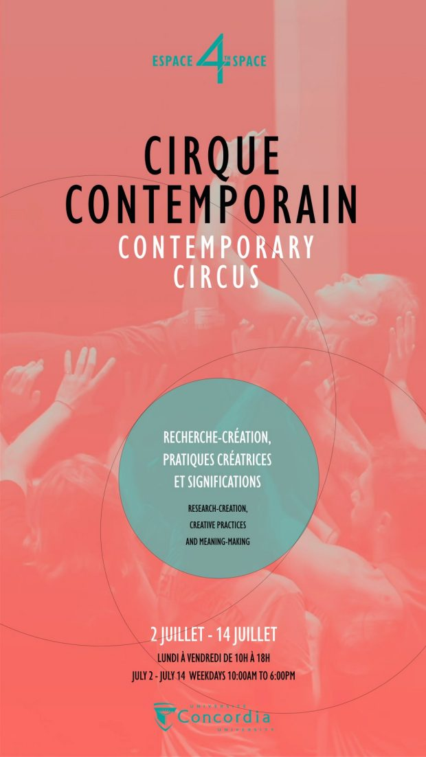 CONTEMPORARY CIRCUS<br>Research-Creation, Creative Practices and Meaning-Making