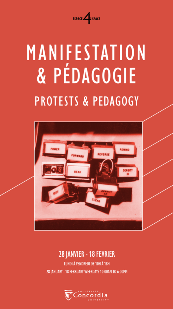 PROTESTS & PEDAGOGY