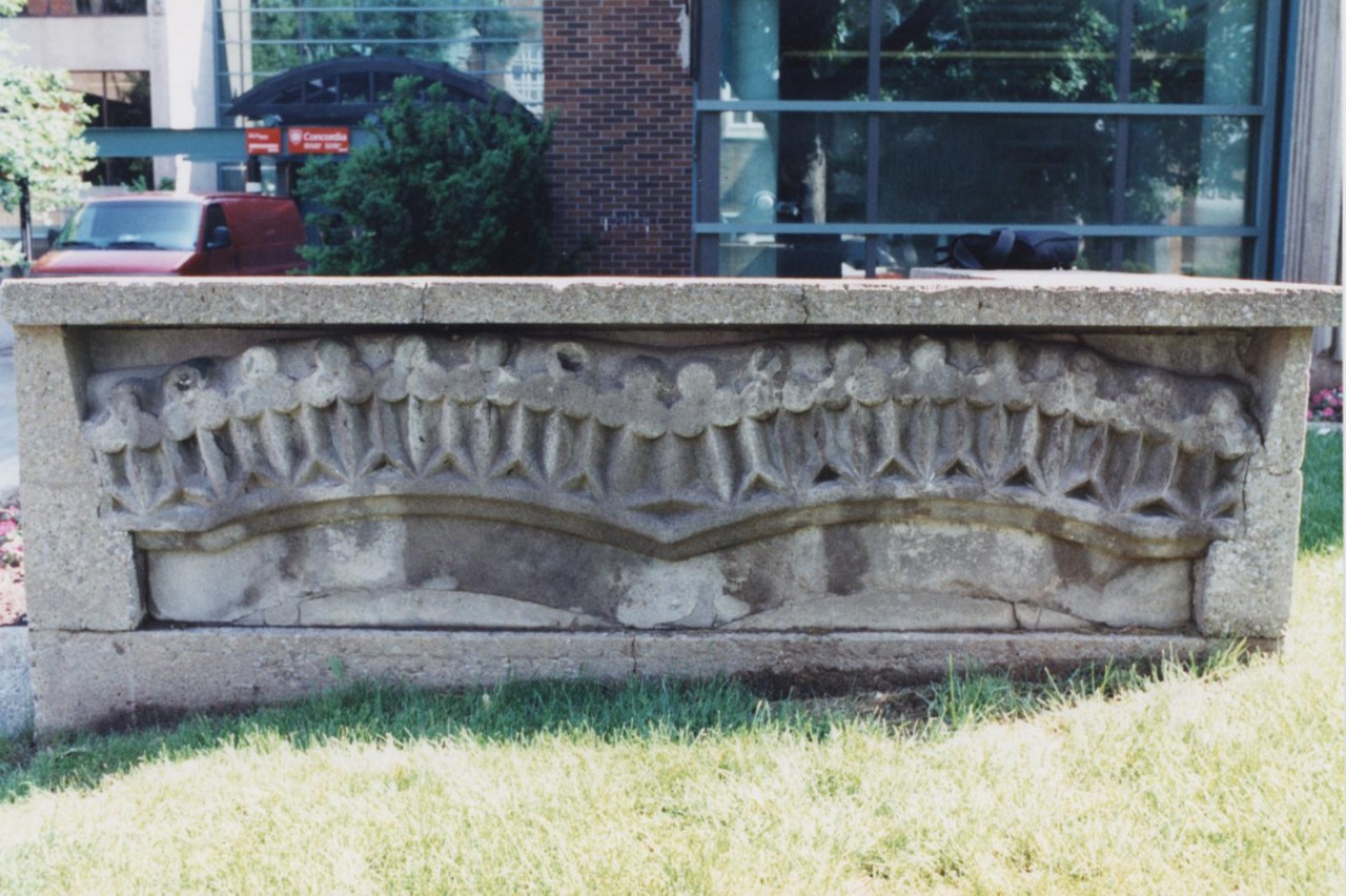Lintel stones from Thomas D'Arcy McGee's house