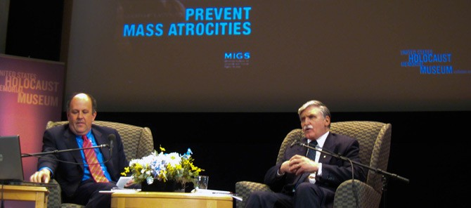 W2I project - Romeo Dallaire speaks at the United States Holocaust Memorial Museum