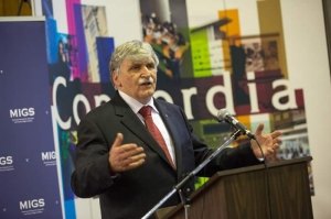 Romeo Dallaire at MIGS conference