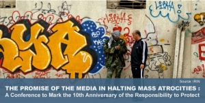 Halting Mass Atrocities conference image