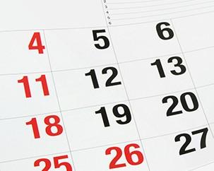 Term dates & deadlines