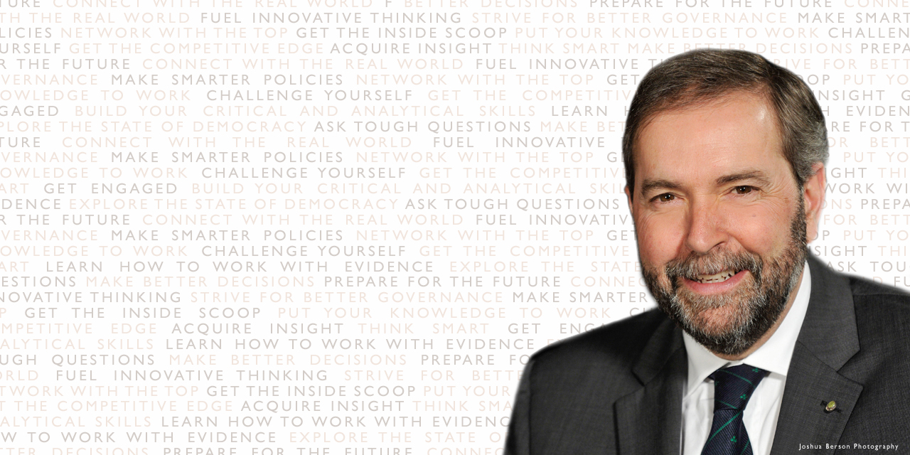 Honourable Thomas Mulcair