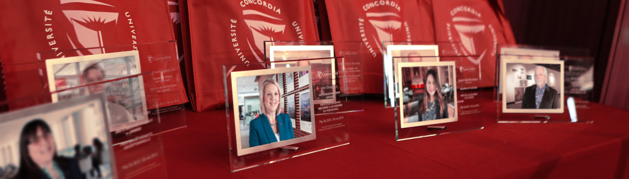 Eight honoured with Alumni Recognition Awards