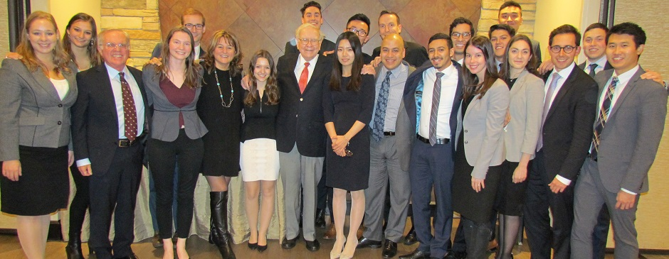 An 'uplifting and inspiring' encounter with Warren Buffett