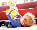 This new 'Baby Tango' doll encourages empathy in kids by responding to their touch