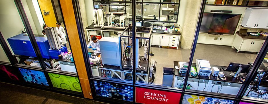Canada's first Genome Foundry is using robots to build synthetic genomes