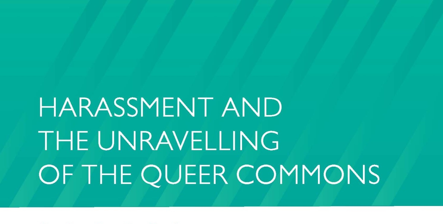 FINAL Harassment and the Unravelling of the Queer Commons Poster-Promo-V4(1)