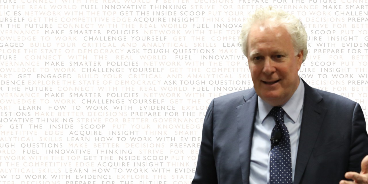 Cross-National and International Free Trade and It's Relevance for Canada's Economic FutureAn Evening with...Honourable Jean Charest, Former Premier of Quebec