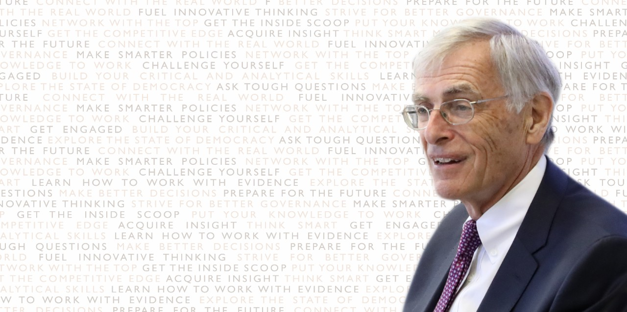 Institutionalizing Independence: What works and how to move forward with Honourable James Cowan, Former Nova Scotia Senator and Senate Liberal Leader