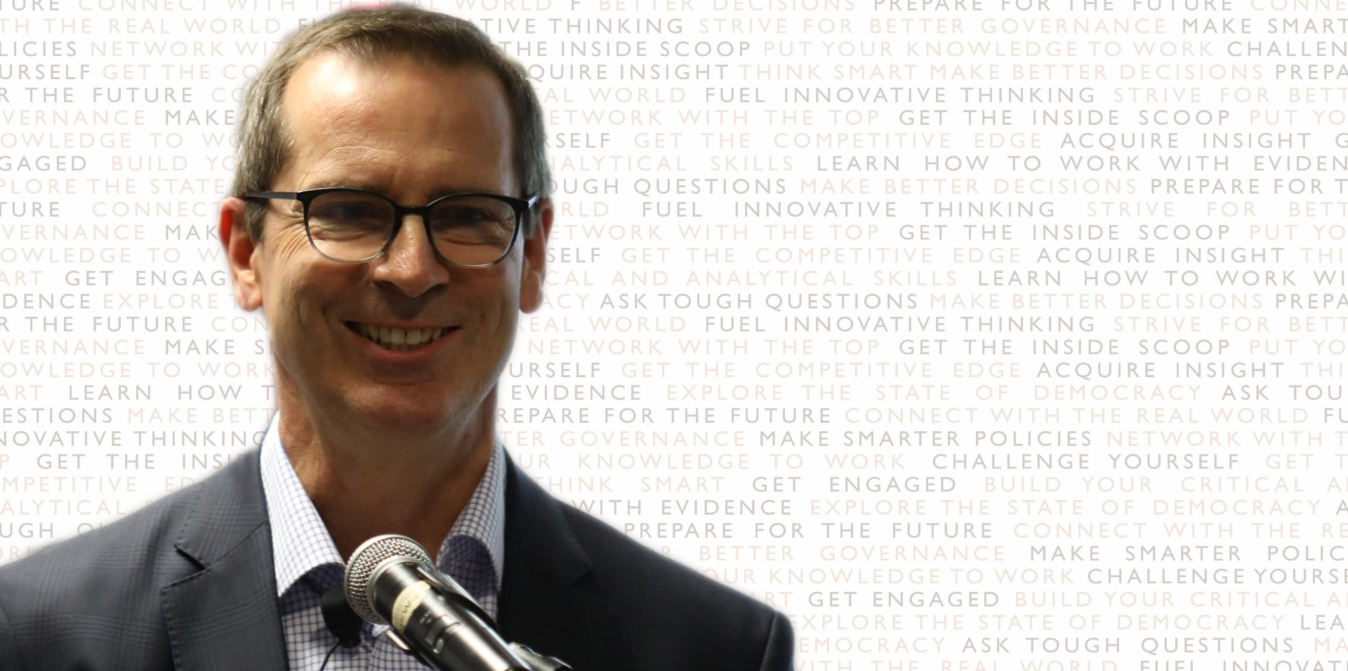 Climate Change: Can We Win This?  Be Honest.An Evening with...Honourable Dalton McGuinty, Former Premier of Ontario