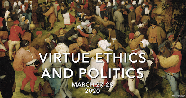 Virtue Ethics and Politics - banner