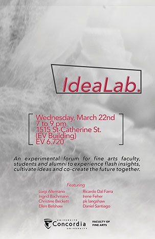 Idea Lab March 22 Poster