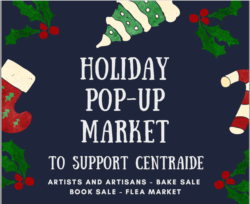 Holiday Pop-up Market to support Centraide