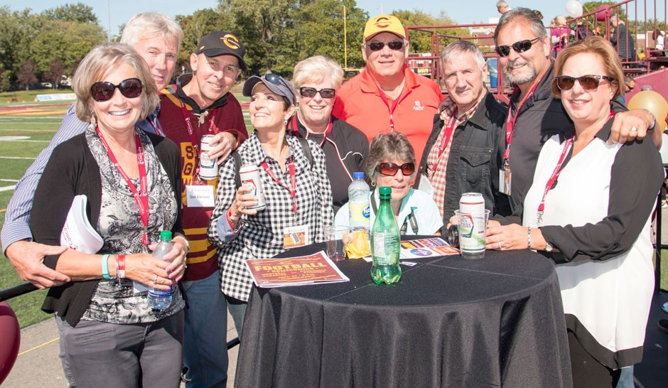 Alumni Zone at Homecoming