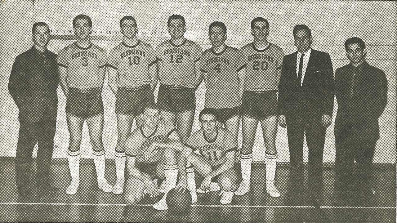 Sir George Williams Men's Basketball, 1961-62
