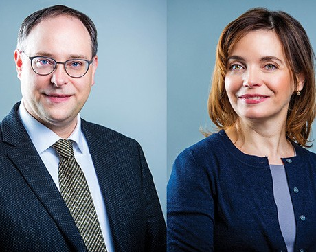 Louis Patrick Leroux and Francesca Scala appointed Associate Dean, Research and Associate Dean, Graduate Studies