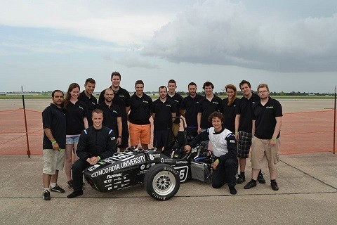Fast Finish For Formula Racing Team