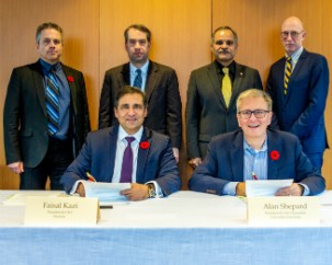 Concordia's Gina Cody School and Siemens Canada enter into MOU