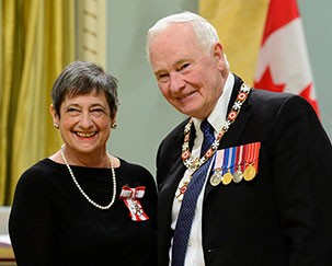Sandra Paikowsky: member of the Order of Canada