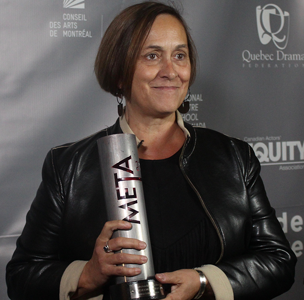 Former artist-in-residence Micheline Chevrier won Outstanding Direction for Intractable Woman