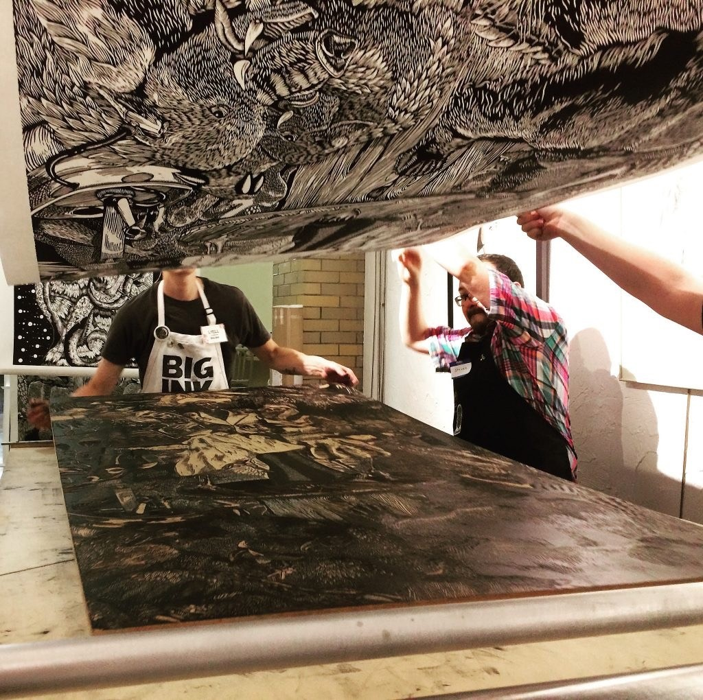 FOFA Gallery brings in Big Ink