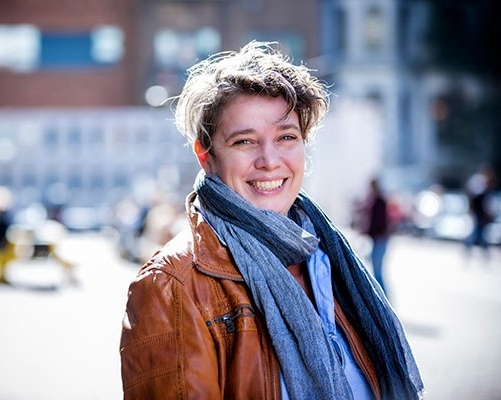 Assistant Professor Shauna Janssen, new director of the Institute for Urban Futures