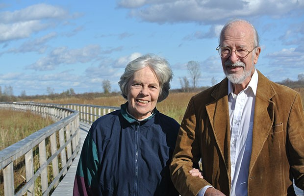 Joanna and Wolfgang Bottenberg. Photo by Cornwall Standard-Freeholder/Postmedia Network