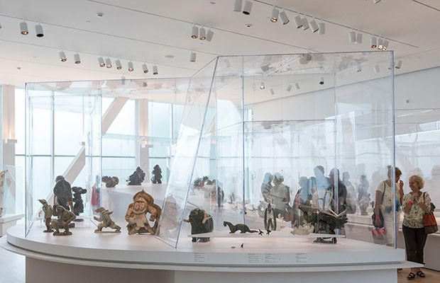 La Collection Brousseau, the permanent exhibition of Inuit art at the Musée National des Beaux-arts du Quebec. Photo courtesy of MNBAQ.