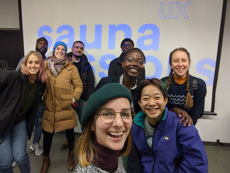 UX Sauna Session 01, December 04 2019, in Montreal.
