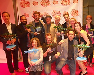 Louise Lamarre and alumni win big at Bayou Film Festival