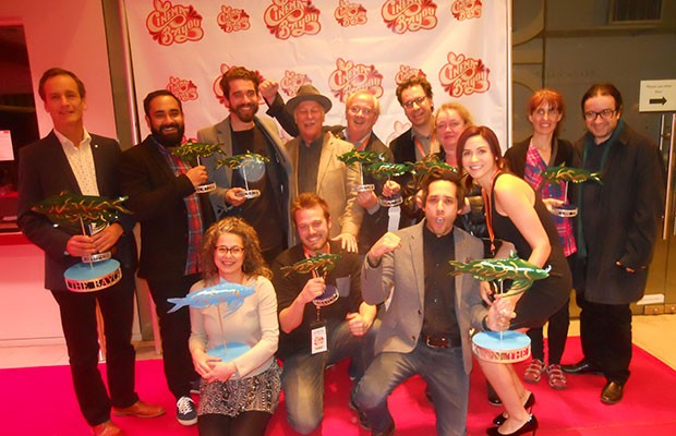 Concordia winners at the Cinema on the Bayou Film Festival