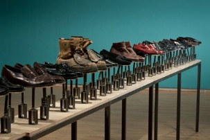 COUNTERPOINT: 3 Installations by Ingrid Bachmann - Symphony for 54 Shoes